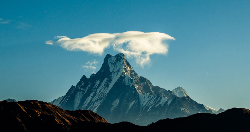 Mount Fishtail in Annapurna Region