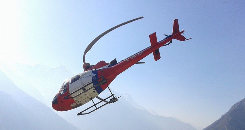 Everest heli tour